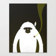 PERFECT SCENT - BIGFOOT 雪人 . EP001 Canvas Print
