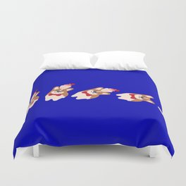 never stop smiling Duvet Cover