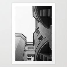 House. Art Print