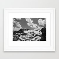 blankets Framed Art Prints featuring Blankets in the Desert by Michael Wytiahlowsky