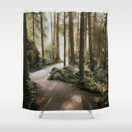 Lost in the Forest - Landscape Photography Shower Curtain