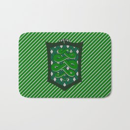 HP Slytherin House Crest Bath Mat