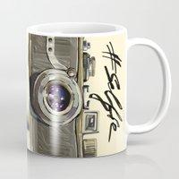 selfie Mugs featuring Selfie by Art_Konstantinov