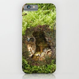 MOSS OWL iPhone Case