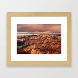 Morning 6011 - Cedar Breaks National Monument, Utah Framed Art Print