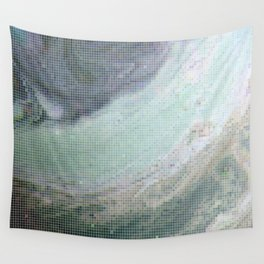Saturn Infrared Wall Tapestry