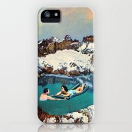 Jeneva Jacuzzi iPhone Case