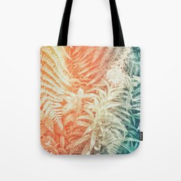 Fern and Fireweed 02 - Retro Tote Bag