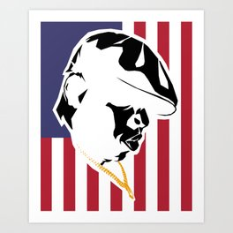 Notorious U.S.A. Art Print