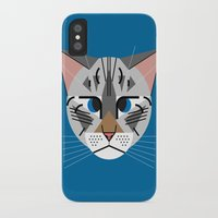 calvin iPhone & iPod Cases featuring Calvin Harper by Hattie Stroud