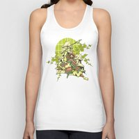 asian Tank Tops featuring Asian spring by Tshirt-Factory