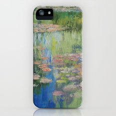 Water Lily Pond iPhone (5, 5s) Slim Case