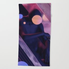 Rush Beach Towel