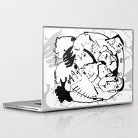 drunk Laptop & iPad Skins featuring Drunk by 5wingerone