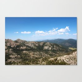 Squaw Valley Canvas Print