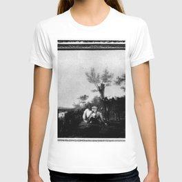 Albertus Verhoesen - Landschap met koeien T-shirt