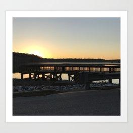 Stumpy Lake - Virginia Beach Art Print