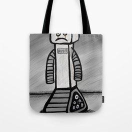 RU5-T the Robot Tote Bag