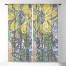 Whimsical Sheer Curtain