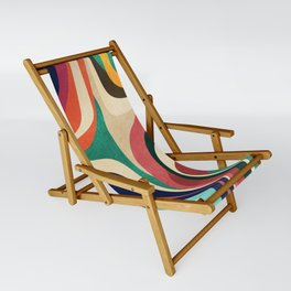Impossible contour map Sling Chair
