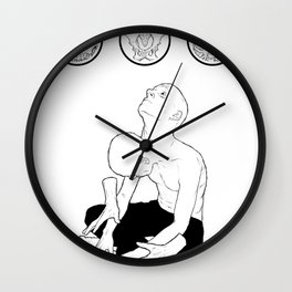 wishing-well/prison-cell Wall Clock