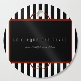 Night Circus Invitation Cutting Board