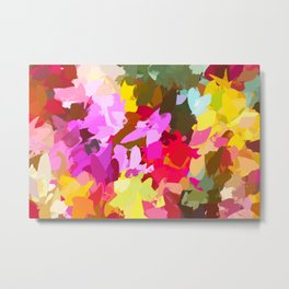 Winterberry #painting #colorful Metal Print