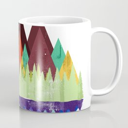 MTB retro Trails Coffee Mug