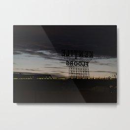 Brooklyn: Kentile Floors Metal Print