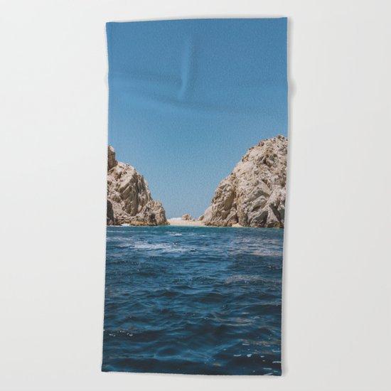 Lovers Beach Beach Towel