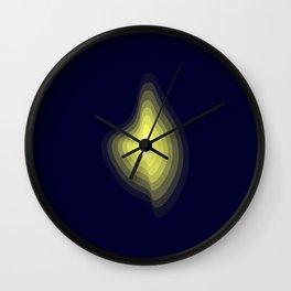 Geometric light glow Wall Clock