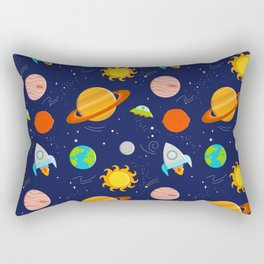 Planet Party Rectangular Pillow