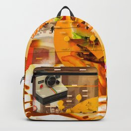 Never In A Million Years < The NO Series (Orange) Backpack