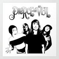pierce the veil Art Prints featuring Pierce The Veil best gift by customgift