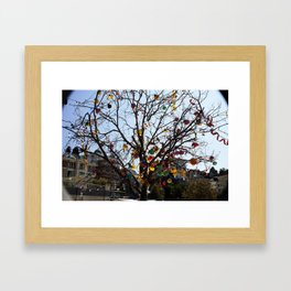 Balloon Tree1 Framed Art Print