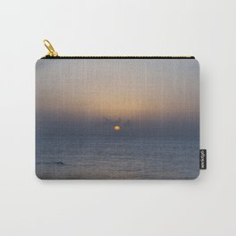 Swimming at sunset Carry-All Pouch