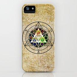 zelda triforce iPhone Case