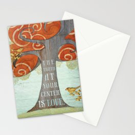 Truth at your Center. Stationery Cards