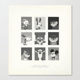 Super Mercredi Bros Heroes (1/8) Canvas Print