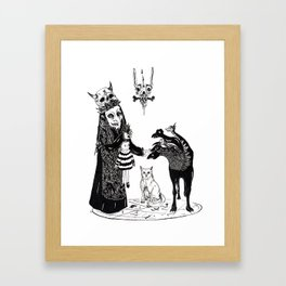 Twelve Framed Art Print
