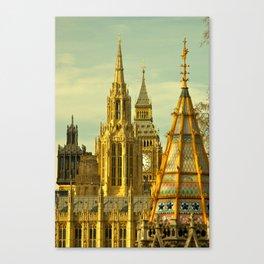London: Houses of Parliament Canvas Print