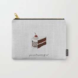 You Want A Piece of Me? Cake Illustration Carry-All Pouch