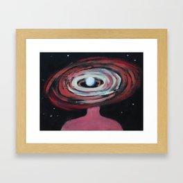 Galaxy Portrait 2 Framed Art Print