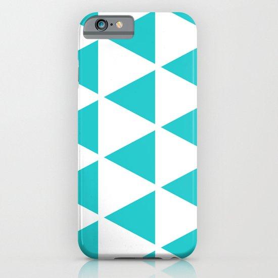 Sleyer Blue on White Pattern iPhone & iPod Case