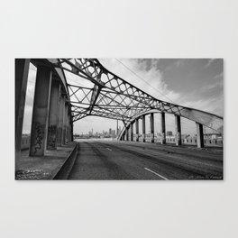 Sixth Street Viaduct Bridge - LA 02/30/2016 Canvas Print