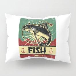 Fish Propaganda | Fishing Angler Lake Boat Pillow Sham