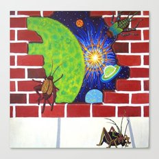 Crickets in the Walls Canvas Print