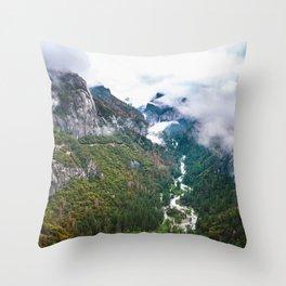 Dream of the Wild, Yosemite National Park Throw Pillow