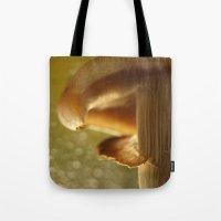 mushroom Tote Bags featuring Mushroom... by Nature In Art...