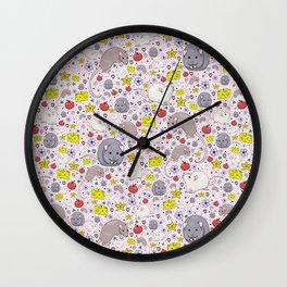 Fancy Rats Wall Clock